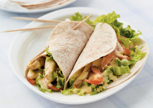Mustard Chicken Wraps Hcg Recipe