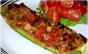 hcg-recipe-sausage-zucchini-boats