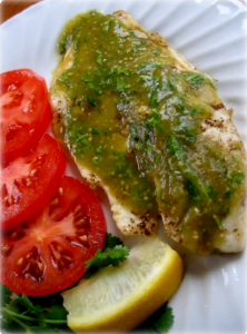 Fish Fillets With Salsa Verde Hcg Recipe