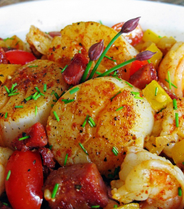 Spiced Scallops and Shrimp Hcg Recipe