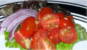 Ginger Tomato Salad Hcg Recipe