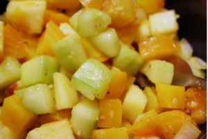 Ginger Vinaigrette Cucumbers Hcg Recipe