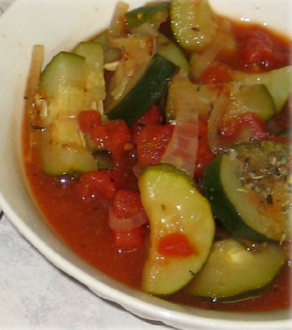Italian Stewed Tomatoes and Zucchini Hcg Recipe