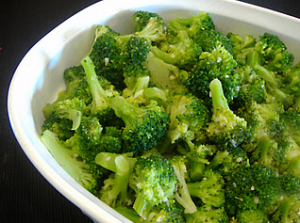 Lemon Garlic Broccoli Hcg Recipe