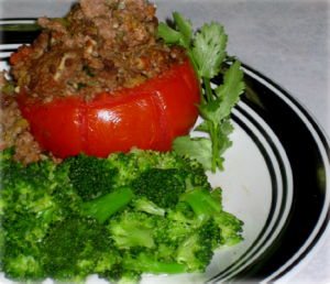 Beef Stuffed Tomato Hcg Recipe