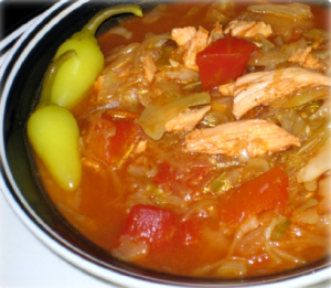 Chicken Cabbage Chili Hcg Recipe