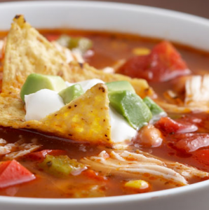 Chicken Fajita Soup Hcg Recipe